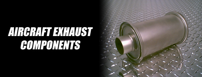 Aircraft exhaust components